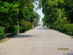 Jinnah's garden drive leading up to Quaid e Azam library, ake Lawrence Park, Lahore, Pakistan (Paul Snook) Tags: park lawrence lahore jinnahsgardens