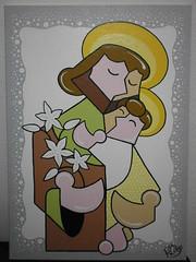 So Jos (Robson Lelis) Tags: santa art artist jose fine rita quadro pop sacra canvas santos brazilian robson sao so jos moderna pintura telas catlicos contempornea lelis poparte rlelis