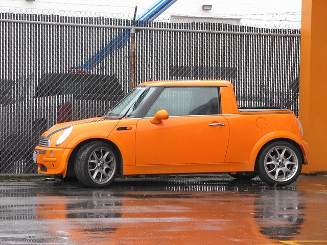 mini pickuptruck cooper