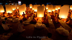 Hundreds Lanterns (LifeisPixels - Thanks for 5 MILLION views!) Tags: lighting light sky pee night lens asian thailand temple asia angle fireworks song miracle buddhist sony south wide buddhism firework east tokina journey monks thai lanterns lantern alpha wat ultra pilgrimage f28 pilgrims buddhists a77 uwa nong supanburi suphanburi 1116mm lifepixels lifeispixels lifeispixelscom