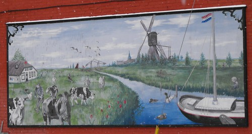 Wall painting in Vankleek Hill