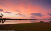 Fingal river sunset NSW 10.1.12 (Sue Martinovich) Tags: sunset red beach water clouds river landscape nsw fingalheads