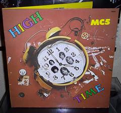MC5 - High Time (renerox) Tags: punk garage vinyl 70s mc5 lps garagerock lpcover