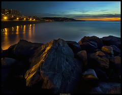 Palos Verdes (Konaflyer) Tags: ocean sunset art beach water rock nikon long exposure jetty redondo verdes palos breakwater d7000 promoteremotecontrol markpatton