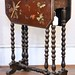 163. Antique Painted Gateleg Table