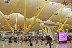 Madrid airport (wakarimasen82) Tags: madrid airport spain terminal4