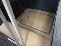 Locker 2 under dining table in false floor (Mudman101) Tags: fiat motorhome ducato