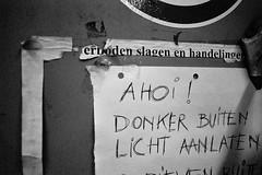 Boksclub (Tuur Uyttenhove) Tags: blackandwhite bw test nikon zwartwit f90 noise drama iso1600 f90x nikonf90x testroll