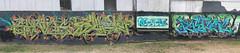 austin recyle wall- epnos, spain, and pastime (httpill) Tags: streetart art austin graffiti spain tag graf pastime epnos httpill