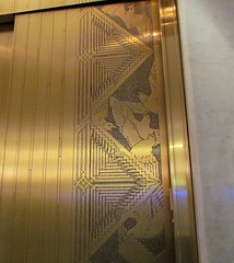 The rooks are on the elevator doors (debstromquist) Tags: chicago birds illinois oldbuildings il financialdistrict theloop elevatordoors rooks 1888 burnhamroot usnationalhistoriclandmarks therookery chicagolandmarks usnationalregisterofhistoricplaces lasalleadamssts