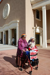 The Raging, Singing Grannies @ The Rally (suenosdeuomi) Tags: movement political rally protest photojournalism social demonstration activism raginggrannies occupy occupysantafe occupynewmexico occupyroundhouse