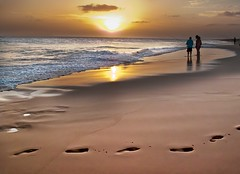 Boa Vista Cape Verde (Christopher Smith1) Tags: ocean sunset sea beach sand footprints atlantic tiff boavista capeverde