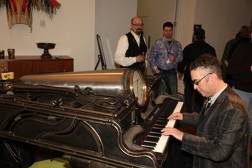 Pianist Richard Bennett, Bruce Rosenbaum, Sam Ostroff creator
