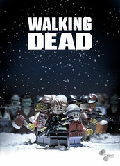 The Walking Dead #5 (TTkc :)) Tags: macro canon lego zombie fanart tribute 28 minifig tamron 90mm walkingdead 50d