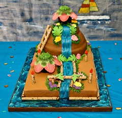 Luau Cake (Inmortal Photography) Tags: cake coconut luau hawaiian pia colada