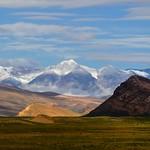 Black Rock and the Tibet Himalayan Mountain Range