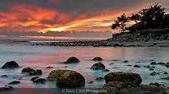 Beach House (Nick Chill Photography) Tags: california sunset photography nikon fineart surfing carpinteria d90 stockimage rinconpoint nickchill