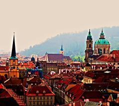 Rooftops - Aspects of Prague (Rnoltenius) Tags: platinumhearts platinumpeace awesome stunning prague rooftops city churches steeples beautiful splendid best great shot fantastic platinumheartaward aboveandbeyondlevel1 flickrstruereflection1