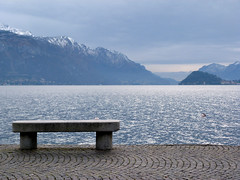 I can't stand (_EdG_) Tags: winter italy mountain lake snow italia horizon pank comolake lagodicomo menaggio 5photosaday
