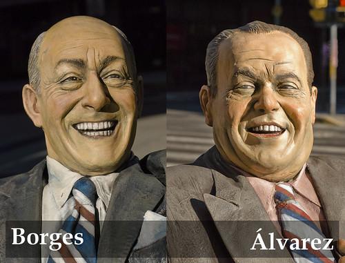 Álvarez y Borges | Alberto Olmedo y Javier Portales