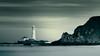 St. Mary's (Alistair Bennett) Tags: sunset lighthouse seascape coast rocks polarizer stmarys whitleybay tynewear oldhartley gnd075he canonef70200ƒ28l gnd045se