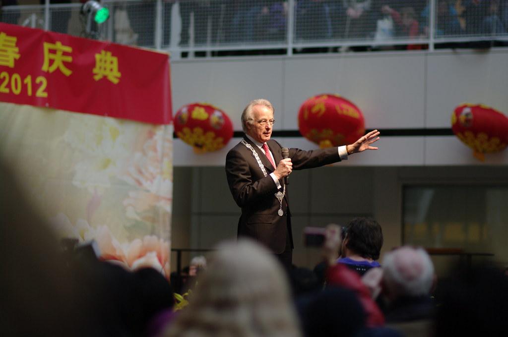 Jozias van Aartsen, Chinees nieuwjaar in Den Haag