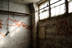 (Nick Forslund) Tags: chicago window graffiti marcus harris urbex harrismarcus