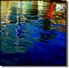 Reflections in Salty Water (Pifou 2010) Tags: blue light abstract france reflection art colors graphic cannes couleurs bleu lumiere reality reflets mediterraneansea 2012 hypothetical abstrait vividimagination shockofthenew eausale mermditrrane saltywater awardtree vanagram flickraward trolledproud crazygeniuses gerardbeaulieu pifou2010 netartii reflectionsinsaltywater
