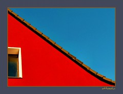 Red House - Blue Sky (ottosohn) Tags: blue roof red sky house colour rot art window wall germany paint fenster shapes himmel haus redandblue blau dach farbe surfaces renovierung fassade diagonale artstyle hauswand moers wandfarbe transverse frischgestrichen geometriccomposition verschnerung colorphotoaward trynka ottosohn mygearandme mygearandmepremium mygearandmebronze mygearandmesilver mygearandmegold mygearandmeplatinum mygearandmediamond flickrstruereflection1 flickrstruereflection2 flickrstruereflection3 flickrstruereflection4 flickrstruereflection5 flickrstruereflection6 rememberthatmomentlevel4 rememberthatmomentlevel1 blendofcolours rememberthatmomentlevel2 rememberthatmomentlevel3 rememberthatmomentlevel7 rememberthatmomentlevel9 rememberthatmomentlevel5 rememberthatmomentlevel6 rememberthatmomentlevel8 rememberthatmomentlevel10 vigilantphotographersunite vpu2 vpu3