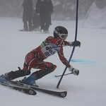 Teck Enquist Slalom, January 2012, Mt. Seymour - Lloyd Lyall (WMSC) PHOTO CREDIT: Steve Fleckenstein