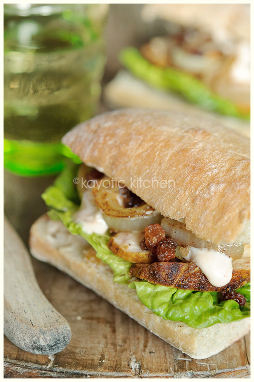 Chicken Marrakech Sandwich