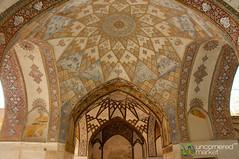 Fin Garden and Persian Design - Kashan, Iran (uncorneredmarket) Tags: gardens iran ceiling unesco kashan fingarden persianarchitecture persiandesign baghetarikhiyefin