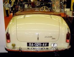 Delahaye 235 (gueguette80 ... non voyant pour une dure indte) Tags: auto old red paris cars salon autos 2012 delahaye 235 anciennes portedeversailles paire retromobile redcars franaises rtromobile