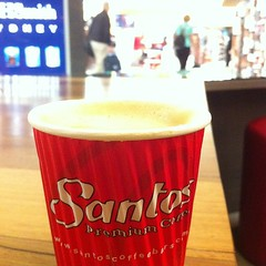 Airport coffee