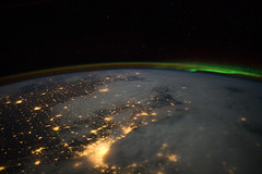 Greater Chicago Metropolitan Area (NASA, International Space Station, 02/02/12) (NASA's Marshall Space Flight Center) Tags: chicago holland fog wisconsin illinois michigan stpaul minneapolis atmosphere indiana iowa lakemichigan greatlakes nasa madison aurora gary grandrapids dubuque auroraborealis minneapolisstpaul internationalspacestation earthatnight airglow earthlimb stationscience crewearthobservation stationresearch