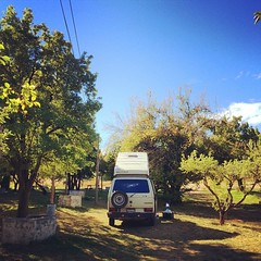 We camped at an apple orchard last night. #vw #vwt3 #vanagon #transporter #westy #westfalia #trevelin #chubut #vanenvan (jbuhler) Tags: apple vw night last orchard an we westy transporter chubut westfalia vanagon camped vwt3 trevelin instagram ifttt vanenvan