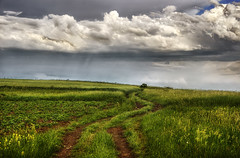 Call Into Nowhere (Dimmilan) Tags: road sky nature grass clouds landscape countryside path serbia rajac slicesoftime galleryoffantasticshots
