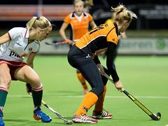 P3211284 (roel.ubels) Tags: hockey sport zwart mop oranje fieldhockey 2014 vught hoofdklasse