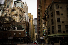 New York Day 2 (SDHN) Tags: park street new york city nyc wall architecture buildings square central broadway times financial subways istrict