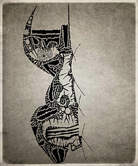 art face tattoo modern painting print poster design sketch artist