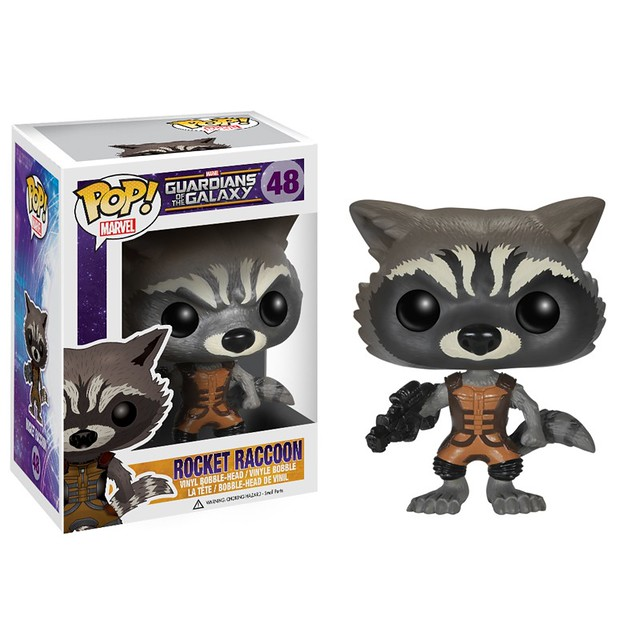 FUNKO WACKY WOBBLER & POP! MARVEL 系列【星際異攻隊】Guardians of the Galaxy