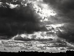 Drama celeste (Bonsailara1) Tags: madrid city blackandwhite espaa blancoynegro backlight clouds contrast contraluz spain cloudy ciudad cielo nubes contraste sillouette siluetas valdebebas bonsailara1