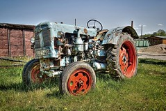 Traktor (mr172) Tags: germany deutschland traktor sony brandenburg hdr mildenberg trekker oberhavel ziegeleipark slta57