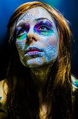 Tallows 1 (Jef Harris) Tags: portrait colorful patterns ottawa makeup muse mua homestudio creativemakeup ottawamodel