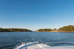 No clouds. no worries (JarkkoS) Tags: sea sky water espoo finland landscape island boat spring boating fi d800 uusimaa suomenlahti suvisaaristo 2470mmf28eedafsvr