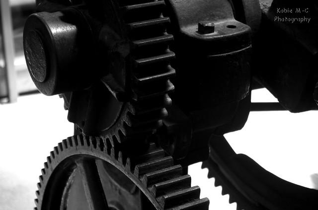 Drill Press Hand Brake Gears
