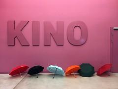 Kino (nedyalko_petkov) Tags: pink color umbrella kino colorful day purple lazy rainy movies finn raindayh