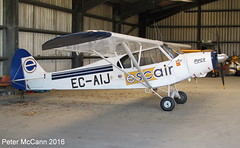 EC-AIJ PA18 Strathaven May 2016 (pmccann54) Tags: piper18 ecaij escair