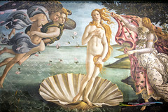 The Birth of Venus (Iztok Alf Kurnik) Tags: italy art beautiful museum painting florence italia gallery venus artgallery postcard birth it tuscany firenze uffizi artmuseum toscana touristattraction botticelli musem travelguide thebirthofvenus uffizigallery travelphotography uffizimuseum firence sandrobotticelli traveltourism iztokkurnik