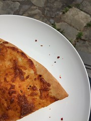 May 19 #DailyLunches - leftover pizza on the front step (fishbowl_fish) Tags: lunch leftovers dailylunches